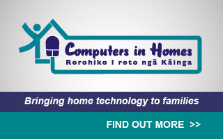 Computers in Homes, Rorohiko I roto ngā Kāinga: bringing home technology to families. Find out more