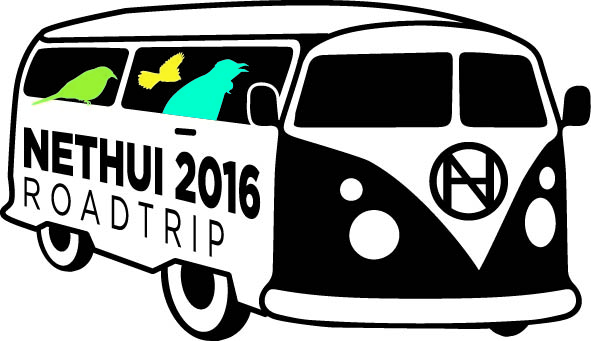 NetHui 2016 Roadtrip logo