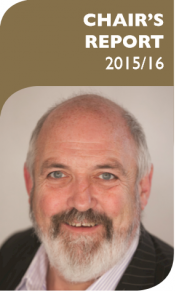 Chair's Report 2015/16