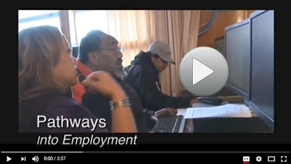YouTube video: Jobseekers talk about digital technology skills help them get jobs