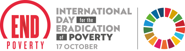International Day for the eradication pf poverty, 17th October.