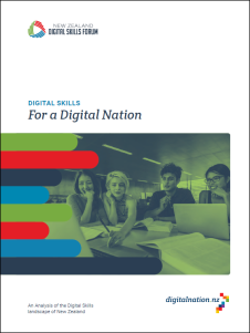 2017 Digital Skills Forum report cover