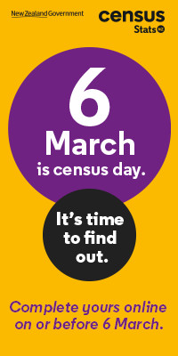 6 March is Census Day
