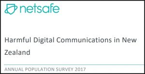Netsafe Harmful Digital Communications in New Zealand ANNUAL POPULATION SURVEY 2017